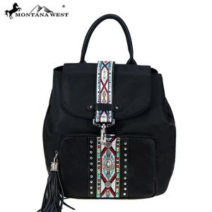 Montana West Aztec Collection Backapack